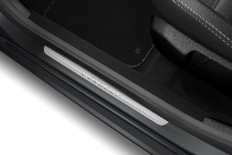 Peugeot 108 - Panelbeskyttelse i alu-look