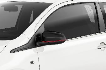 Peugeot 108 - S Line Sidespejlskaller