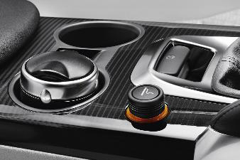 Peugeot 108 - Cigartænder m. lysring