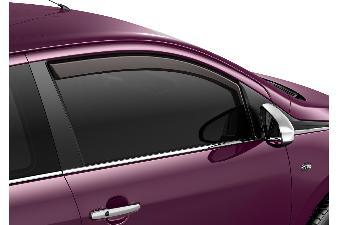 Peugeot 108 - Vindafvisere (3-dørs)