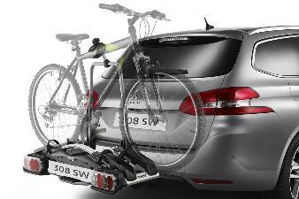 Original Peugeot Cykelholder (platform, 2 cykler)