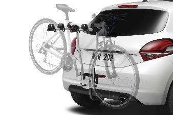 Original Peugeot Cykelholder (hang-on, 2 cykler)