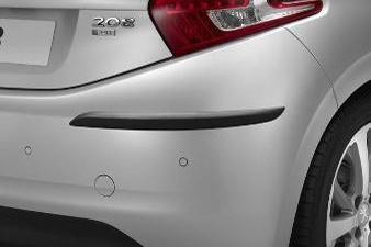 Peugeot 208 - Fenderlistesæt (sort gummi)