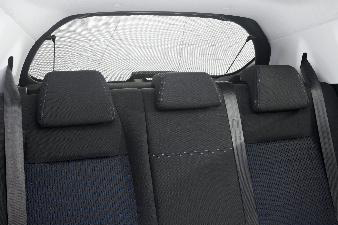 Peugeot 208 - Solgardin til bagrude