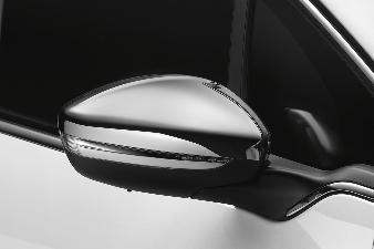 Peugeot 208 - Spejlkapper (krom)