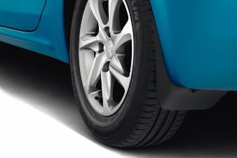 Peugeot 208 - Stænklapper bagved