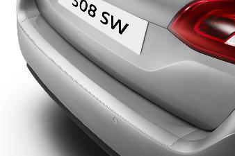 Peugeot 308 -  Beskyttelsesfilm til læssekant SW model