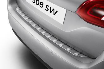 Peugeot 308 (Ny model) -  Beskyttelsesliste til læssekant i rust