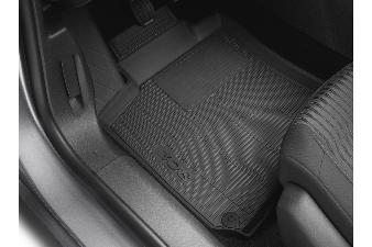 Peugeot 308 -  Formstøbt gummimåttesæt for og bag. Til 5D