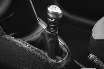 Peugeot 308 (Ny model) - Gearknop til bvm6 børstet aluminium med