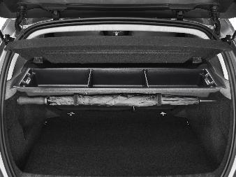 Peugeot 308 -  Opbevaringsrum under hylde rumopdelt
