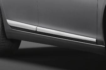 Peugeot 308 5D (Ny model) -  Sæt med sidebeskyttelseslister i kr