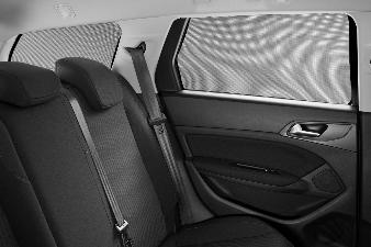 Peugeot 308 SW (Ny model) - Solgardiner til bagdørsruderne