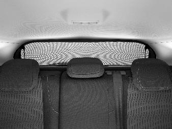 Peugeot 308 5D (Ny model) - Solgardin til baggrude