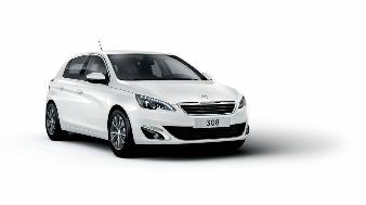 Peugeot 308 (Ny model) - S-Line Spoiler til m. tågelygter