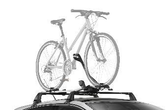 Peugeot 508 - Cykelholder til taget i aluminium