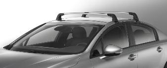 Peugeot 508 - Tagbøjler Sedan, stål
