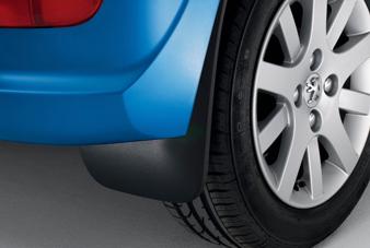 Peugeot 206 - Stænklapper bagved