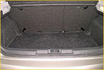 Peugeot 207 - Bagagerumsnet