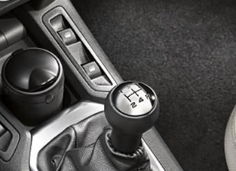 Peugeot 207 - Gearknop