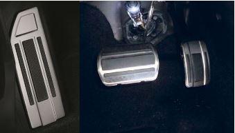Ny Peugeot 5008 - Fodstøtte og pedaler i aluminium, automatgear