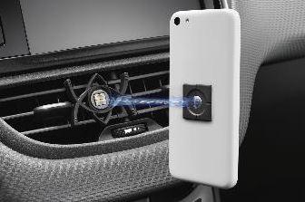 Peugeot 5008 (Ny model) - Smartphone-holder med magnetisk clips