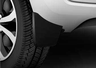 Peugeot 108 -  Stænklapper bagved