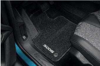 Peugeot 5008 (Ny model) - Bundmåtter i filt