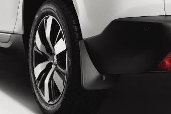 Peugeot 2008 - Stænklapper bagved