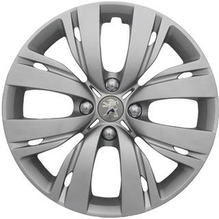 "Original 15"" Peugeot Hjulkapsel Forkromet"