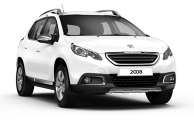Peugeot 2008 (Gl. model) - Viskerblad (bag)
