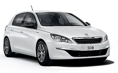 Peugeot 308 SW (Ny model) - Viskerblad (bag)
