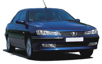 Peugeot 406 Coupe - Viskerbladssæt