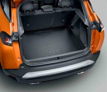 Peugeot 2008 (Ny model) - Bagagerumsbakke fast vognbund (Blød)