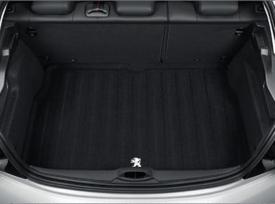 Peugeot 208 - Bagagerumsmåtte filt, vendbar