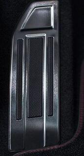 Peugeot 308 - Alu-skinne til fodstøtte