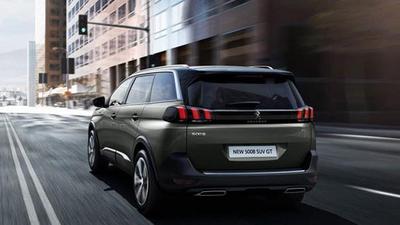 Peugeot 5008 (Ny model) - Rørhalesæt i krom