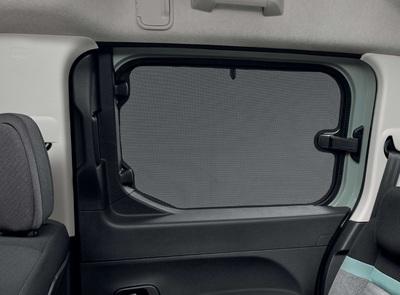 Peugeot Rifter -  Solgardin t. skydedørsruder