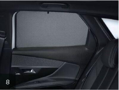 Peugeot 3008 (Ny model) - Solgardin sideruder